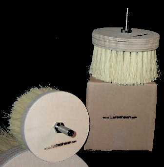The Burnisher ~ antique wax polishing brush